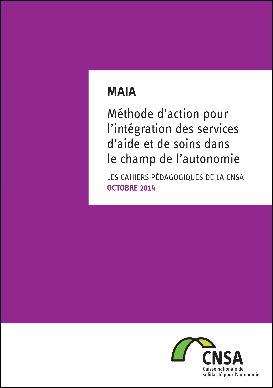 Les cahiers pédagogiques de la CNSA : MAIA (PDF, 2.14 Mo)