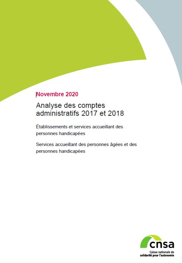 Analyse des comptes administratifs 2017 et 2018 - accessible (PDF, 2.09 Mo)