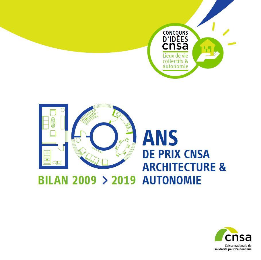 Brochure 10 ans de Prix CNSA Architecture & Autonomie (PDF, 13.16 Mo)