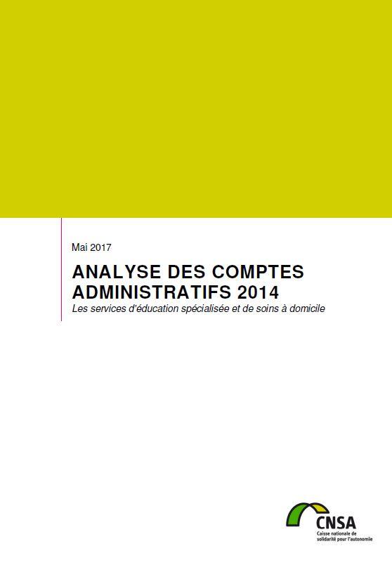 Les SESSAD. Analyse des comptes administratifs 2014 (ZIP, 3.6 Mo)