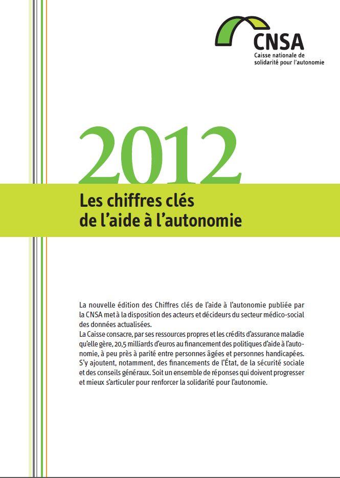 Les chiffres clés de l'aide à l'autonomie 2012 (PDF, 1.46 Mo)