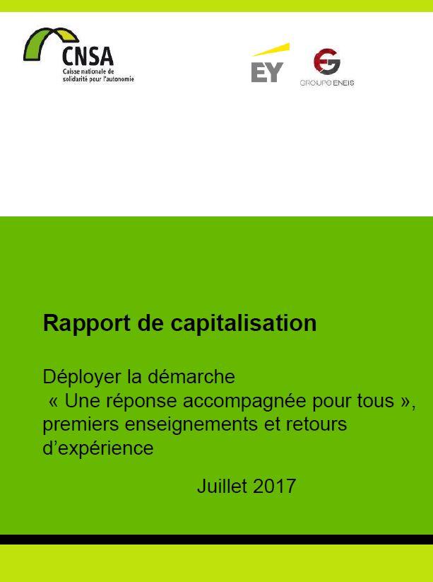 Rapport de capitalisation. Déployer la démarche « Une réponse accompagnée pour tous » (PDF, 3.67 Mo)