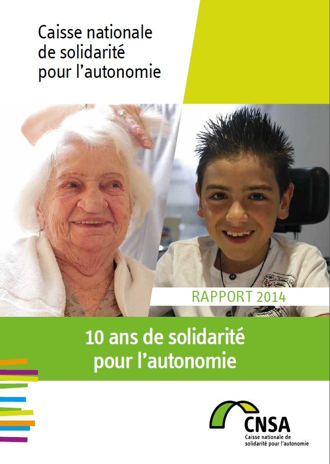 Rapport annuel 2014 : 10 ans de solidarité pour l'autonomie (PDF, 17.59 Mo)