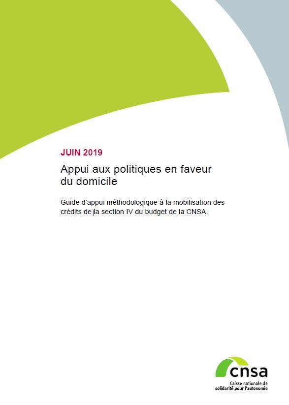 Appui aux politiques en faveur du domicile. Guide d'appui méthodologique  (PDF, 1.45 Mo)