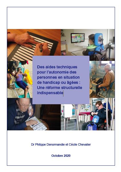 Des aides techniques pour l'autonomie des personnes en situation de handicap ou âgées : Une réforme structurelle indispensable (PDF, 5.41 Mo)