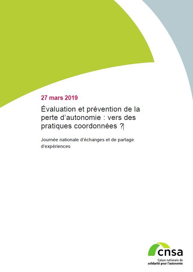 Compte-rendu : Évaluation et prévention de la perte d'autonomie : vers des pratiques coordonnées ? (PDF, 741.32 Ko)