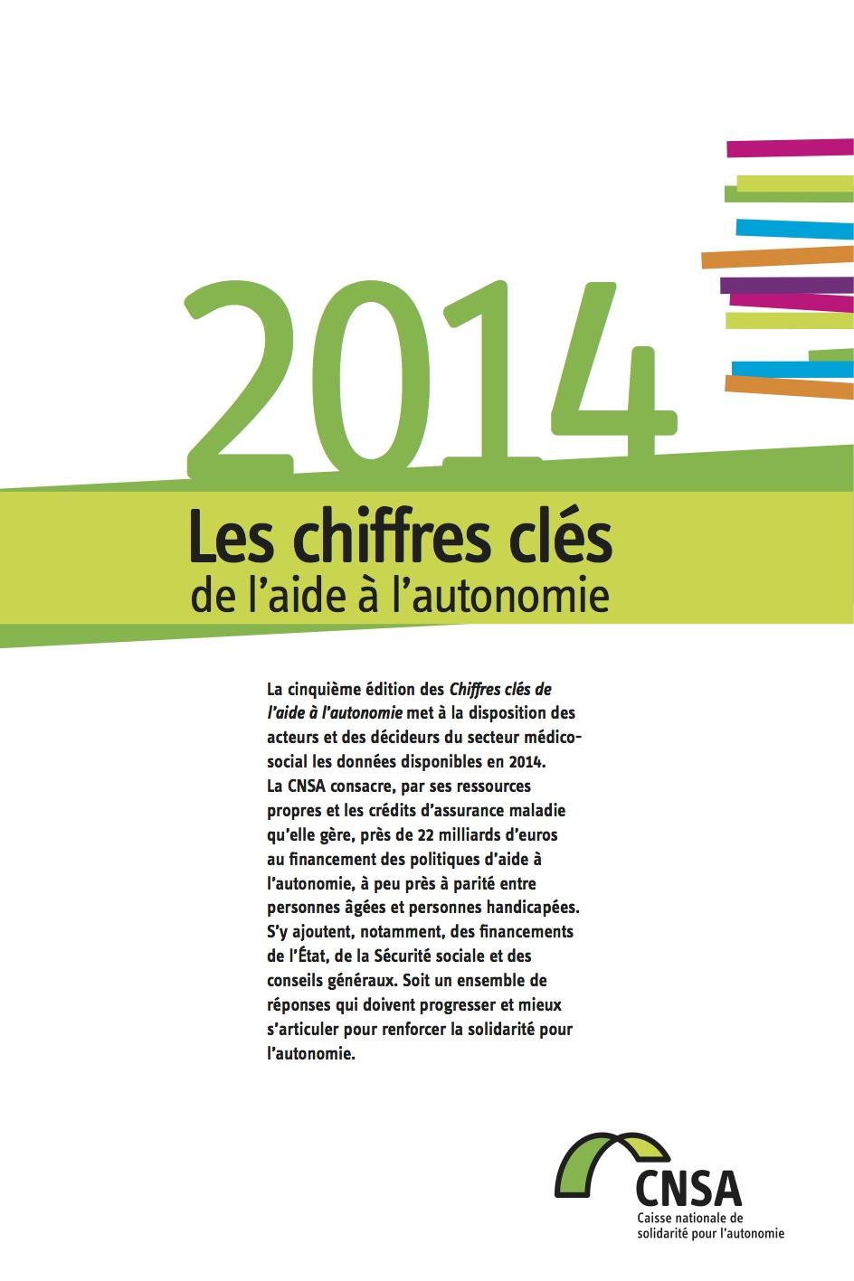 Les chiffres clés de l'aide à l'autonomie 2014 (PDF, 1.57 Mo)