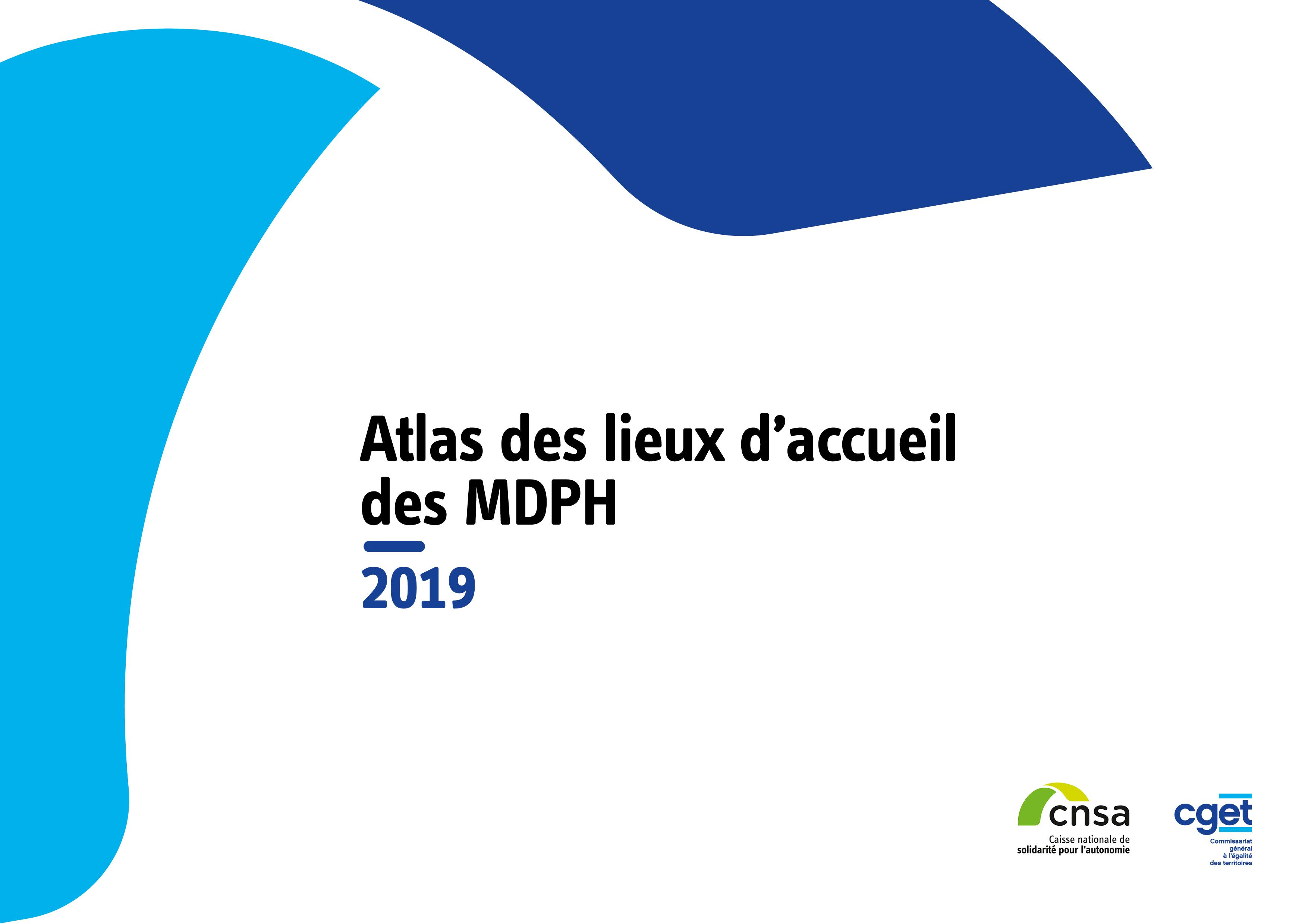 Atlas des lieux d'accueil des MDPH 2019 (ZIP, 14.66 Mo)