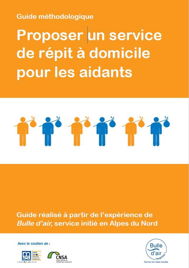 Guide : proposer un service de répit à domicile pour les aidants (PDF, 3.19 Mo)