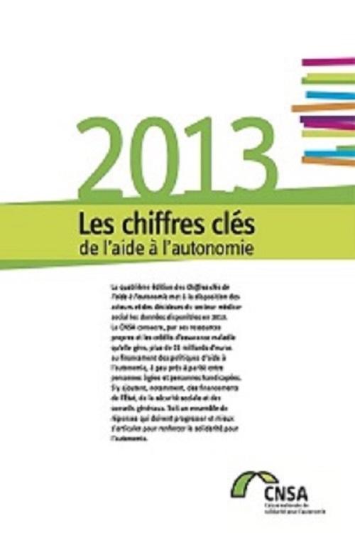 Les chiffres clés de l'aide à l'autonomie 2013 (PDF, 2.07 Mo)