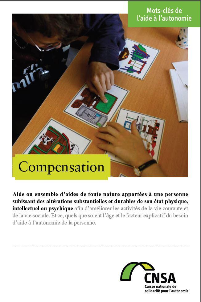 Mots-clés de l'aide à l'autonomie : Compensation (PDF, 439.81 Ko)