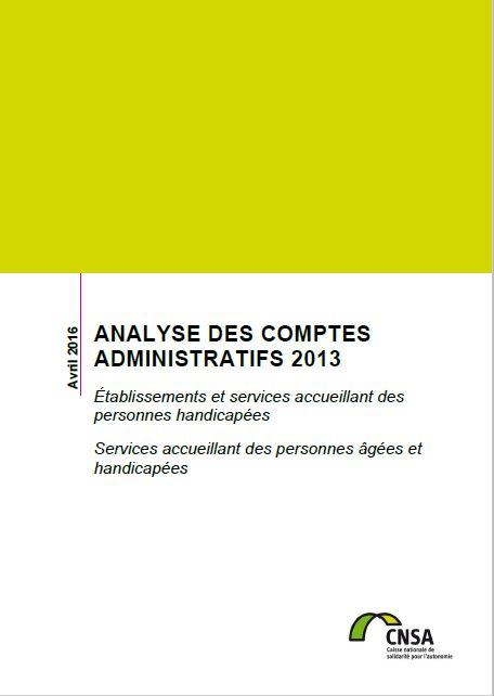 Rapport d'analyse des comptes administratifs 2013 (PDF, 2.6 Mo)