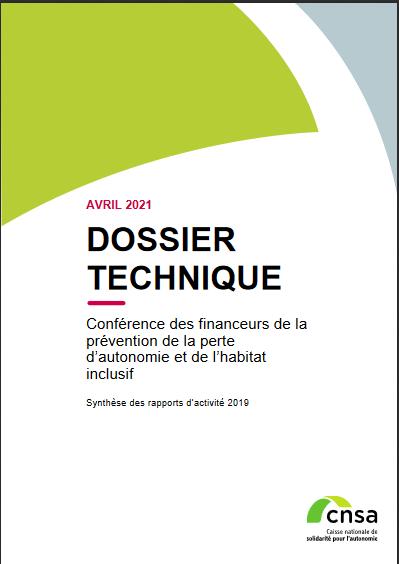 Conférence des financeurs de la prévention de la perte d'autonomie et de l'habitat inclusif. Synthèse 2019 - accessible (PDF, 2.88 Mo)