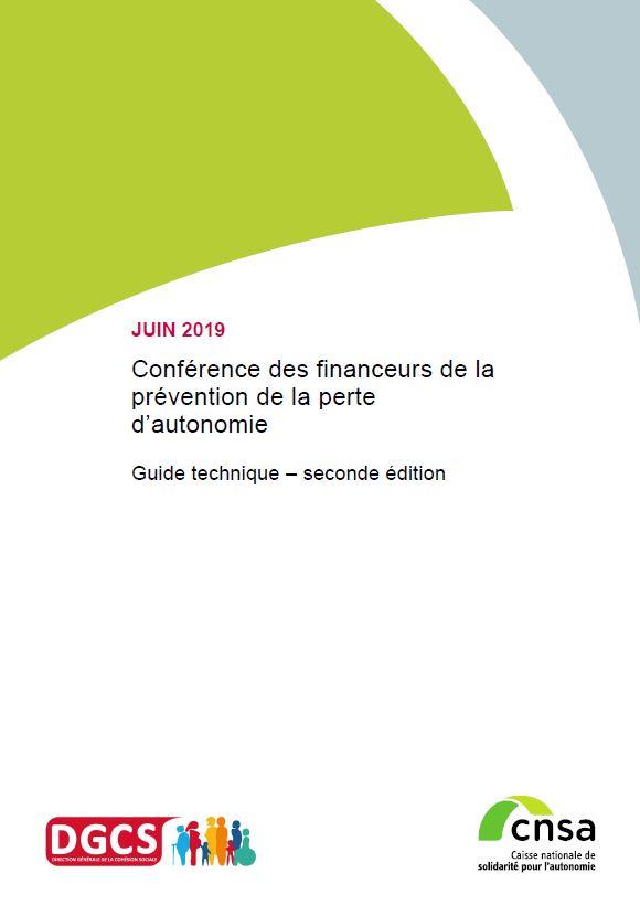 Conférence des financeurs de la prévention de la perte d'autonomie. Guide technique – seconde édition (PDF, 1.59 Mo)