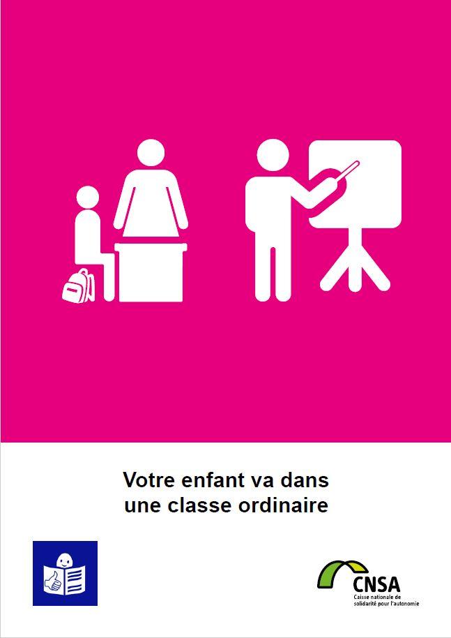 votre enfant va dans une classe ordinaire