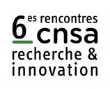 Rencontres CNSA recherche & innovation - Accueil