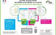 30 novembre : date-butoir pour la transmission des prix des EHPAD