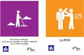 Des fiches en facile à lire et à comprendre sur les aides et les démarches pour informer les personnes handicapées