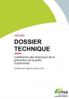 Conférence des financeurs de la prévention de la perte d'autonomie. Synthèse 2018 (ZIP, 4.4 Mo)