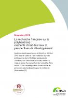 La recherche française sur le polyhandicap : éléments d'état des lieux et perspectives de développement (ZIP, 9.92 Mo)