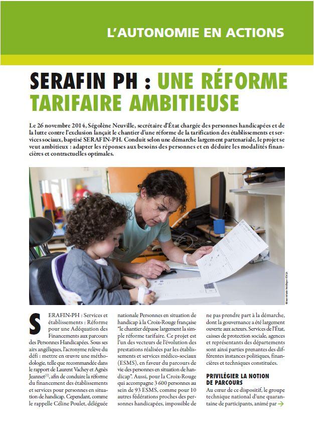 Décembre 2015 : Serafin-PH, une réforme tarifaire ambitieuse (PDF, 4.37 Mo)